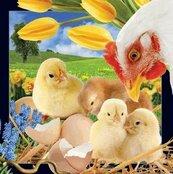 Wielkanocne kurczaczki pocztówka 3D