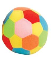 Piłka miękka z dzwoneczkiem duża w siatce DROMADER