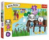 Puzzle 15el MAXI - Kicia Kocia nad jeziorem 14331 Trefl