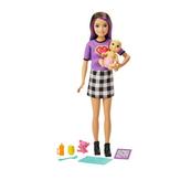 Barbie Opiekunka Lalka + bobas + akcesoria GRP11 GRP10 MATTEL