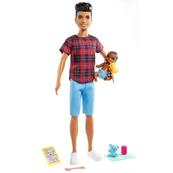 Barbie Opiekunka Lalka + bobas + akcesoria GRP14 GRP10 MATTEL