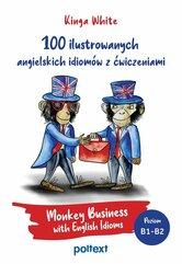 100 ilustrowanych angielskich idiomów z ćwiczeniami