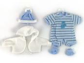 Ubranko dla lalki bobas 45cm 484849 ADAR