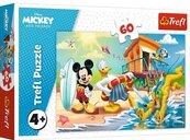 Puzzle 60el Ciekawy dzień Mikiego i przyjaciół 17359 Trefl