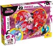 Puzzle dwustronne Minnie 24