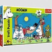 Puzzle 24el Maxi Radosny dzień Muminków 14324 Trefl