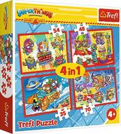 Puzzle 4w1 Tajni Szpiedzy 34376 TREFL