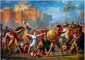 Puzzle 1000 Porwanie Sabinel, Jacques-Louis David