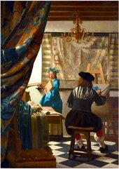 Puzzle 1000 Alegoria malarstwa, Johannes Vermeer