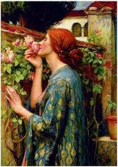 Puzzle 1000 Dusza róży, John William Waterhouse