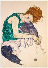 Puzzle 1000 Siedząca kobieta, Egon Schiele, 1917