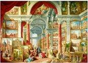 Puzzle 1000 Galeria sztuki w Rzymie, Panini, 1757