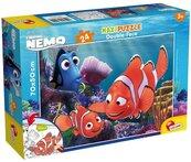 Puzzle dwustronne maxi Gdzie jest Nemo 24
