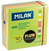 Karteczki samoprzylepne 76x76/400K neon mix MILAN