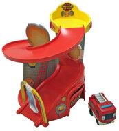 Remiza strażacka Motortown + miękki pojazd ratunkowy