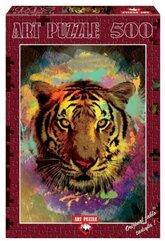 Puzzle 500 Tygrys