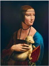 Puzzle 1000 Dama z łasiczką, Leonardo da Vinci