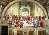 Puzzle 1000 Szkołą Ateńska, Raphael, 1511