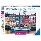 Puzzle 1000 Skandynawskie miasto