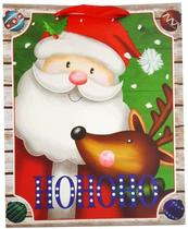 Torebka prezentowa świąteczna 7007B 26x32x12cm p12, cena za 1szt