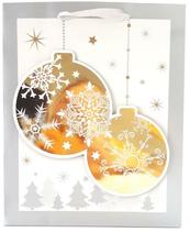 Torebka prezentowa świąteczna 3D 9016B 26x32x10cm p12, cena za 1szt