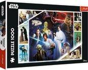 Puzzle 1000el Star Wars W odległej Galaktyce 10625 Trefl