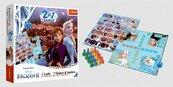 Chińczyk / Węże i drabiny Frozen 2 gra 02068 Trefl