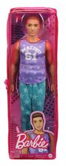 Barbie Lalka Fashionistas Stylowy Ken GRB89 DWK44 MATTEL