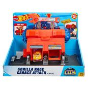Hot Wheels CITY Gorilla Rage Garage Attack GJK89 FNB05 MATTEL