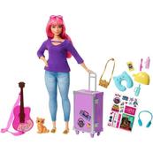 Barbie DHA Lalka Daisy w podróży FWV26 p6 MATTEL