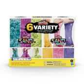Play-Doh Sand Variety 6 kolorów F0103 HASBRO