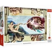 Puzzle 1000el Art Collection - Stworzenie Adama 10590 TREFL