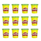 Play-Doh Ciastolina Tuby uzupełniające 12-pak Zielony E4828 p7 HASBRO