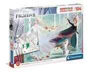 Puzzle 104 HappyColor Double Face Frozen 2