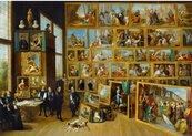 Puzzle 1000 Kolekcja sztuki w Brukseli
