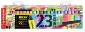 Zakreślacz Boss 23 kolory + podstawka STABILO