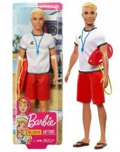 Barbie Lalka Ken Ratownik FXP04 p6 MATTEL cena za 1 szt
