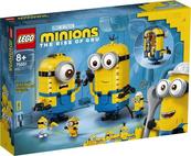 LEGO 75551 MINIONS Minionki z klocków i ich gniazdo