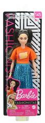 Barbie Lalka Fashionistas 145 GHW59 FBR37 MATTEL