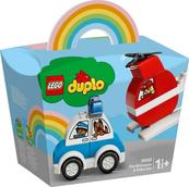 LEGO 10957 DUPLO Helikopter strażacki i radiowóz p4