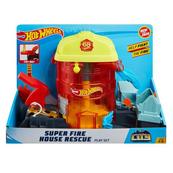 Hot Wheels CITY Super Fire House Rescue GJL06 FNB15 MATTEL