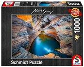 Puzzle PQ1000 Mark Gray Błękit