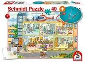 Puzzle 40 Szpital dziecięcy + stetoskop G3