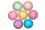 Piłka 230mm PVC Jeżyk transparentny 134456