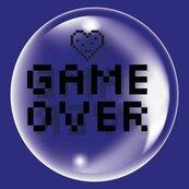 Balon 45cm Game over TUBAN
