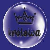 Balon 45cm Królowa czarny TUBAN