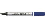 Marker permanentny okrągły niebieski p10. TOMA, cena za 1szt.