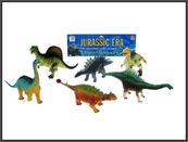 Dinozaury 6 sztuk 15-17cm 2092A HIPO cena za opakowanie