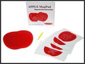 Tablica magnetyczna Jabłko z kulkami 23x22x1,5cm QH930