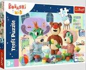 Puzzle 24 maxi Zabawy Treflików przed snem TREFL